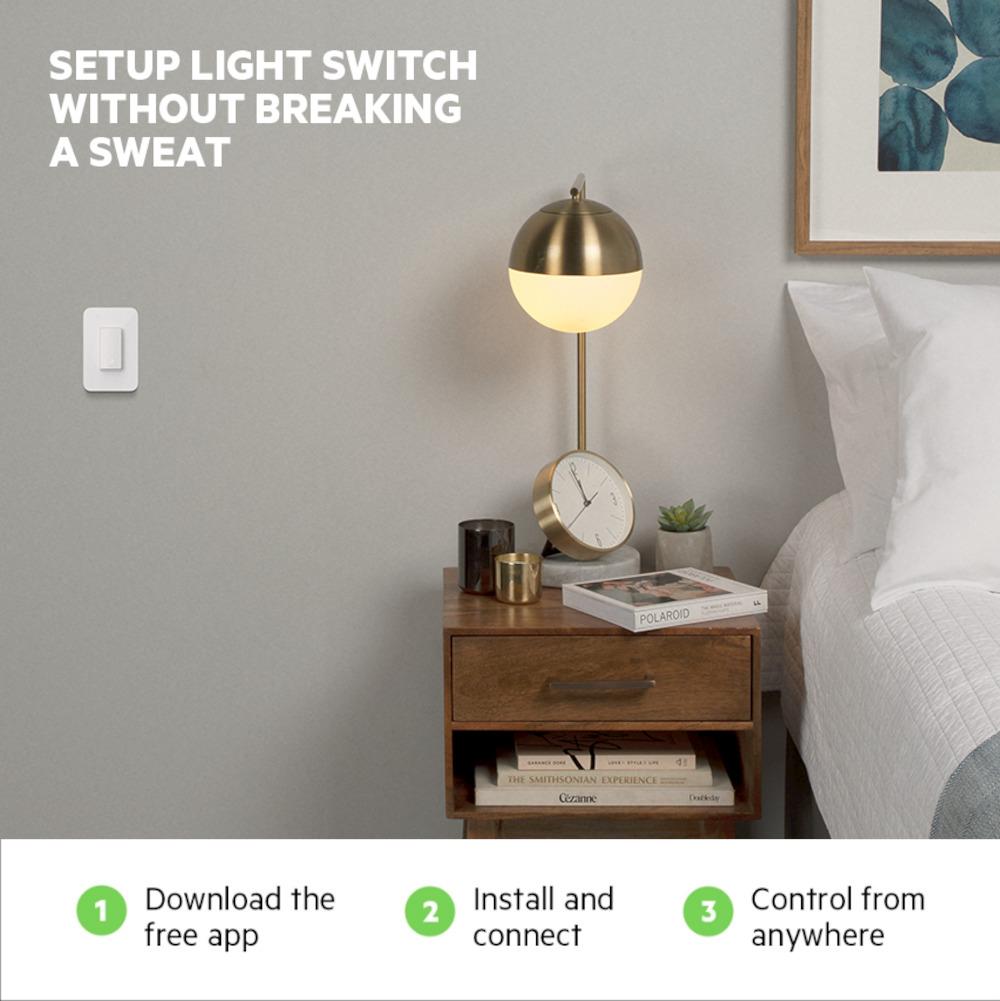 Wemo Smart Light Switch 3